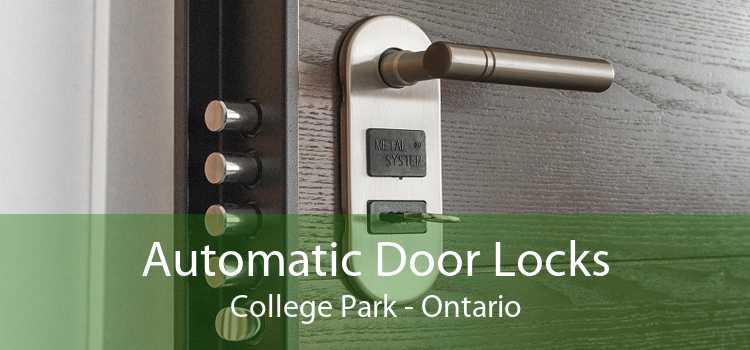 Automatic Door Locks College Park - Ontario