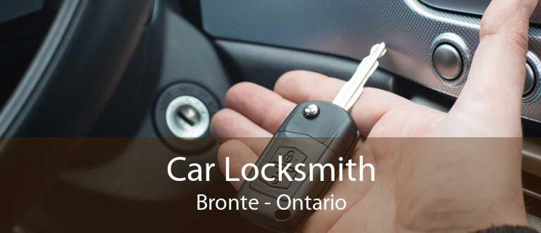 Car Locksmith Bronte - Ontario