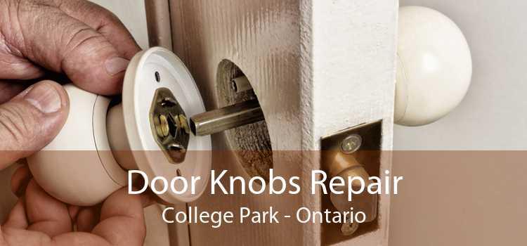 Door Knobs Repair College Park - Ontario