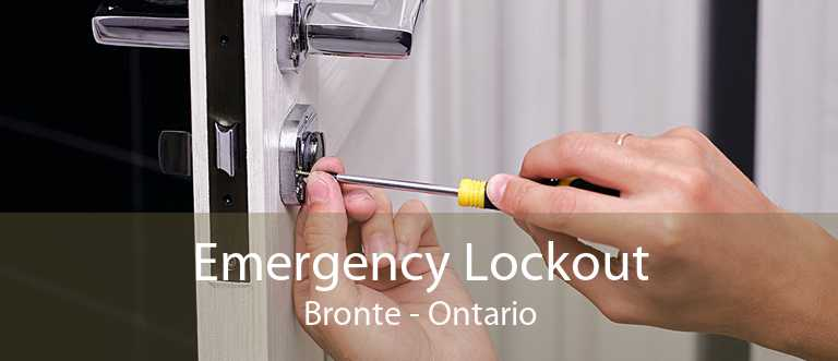 Emergency Lockout Bronte - Ontario