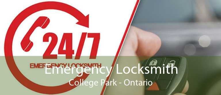 Emergency Locksmith College Park - Ontario