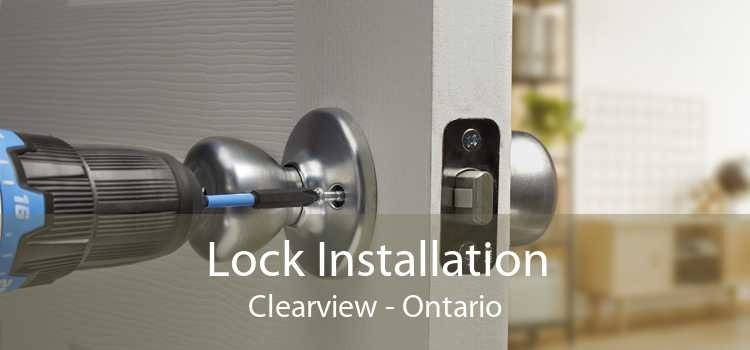 Lock Installation Clearview - Ontario