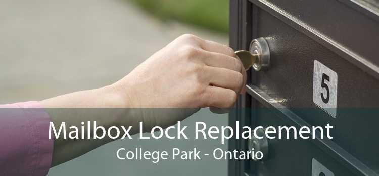 Mailbox Lock Replacement College Park - Ontario