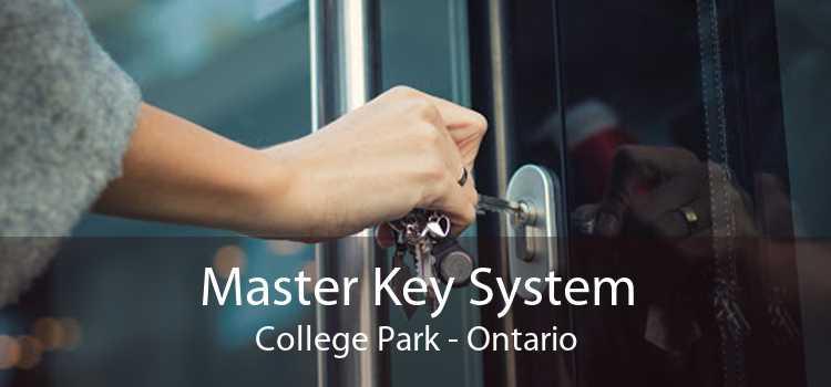 Master Key System College Park - Ontario