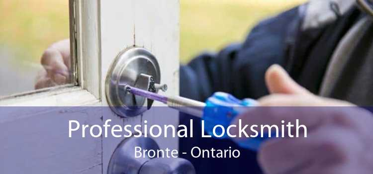 Professional Locksmith Bronte - Ontario