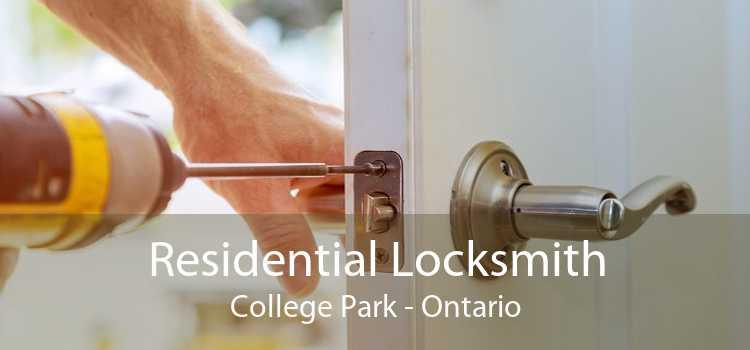 Residential Locksmith College Park - Ontario