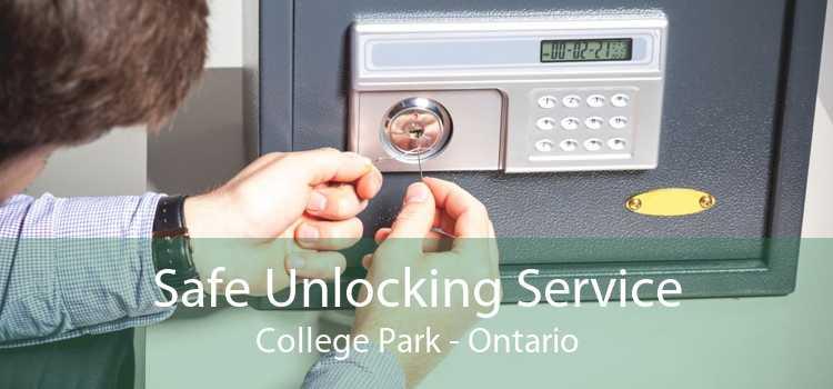 Safe Unlocking Service College Park - Ontario